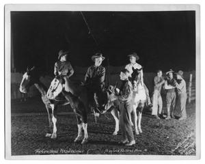 Primary view of object titled '[Cowboys at the Fort Worth Stock Show]'.