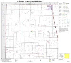 Primary view of object titled 'P.L. 94-171 County Block Map (2010 Census): Swisher County, Block 1'.