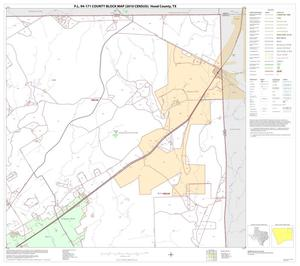 Primary view of object titled 'P.L. 94-171 County Block Map (2010 Census): Hood County, Block 4'.