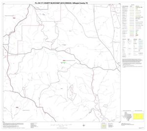 Primary view of object titled 'P.L. 94-171 County Block Map (2010 Census): Gillespie County, Block 9'.