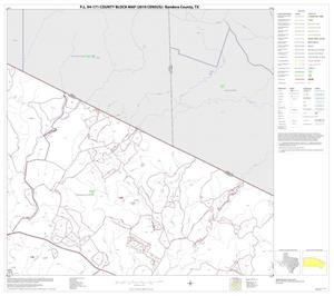 Primary view of object titled 'P.L. 94-171 County Block Map (2010 Census): Bandera County, Block 11'.