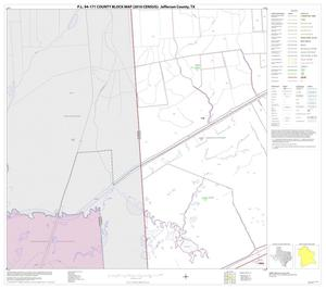 Primary view of object titled 'P.L. 94-171 County Block Map (2010 Census): Jefferson County, Block 32'.