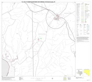 Primary view of object titled 'P.L. 94-171 County Block Map (2010 Census): Val Verde County, Block 63'.