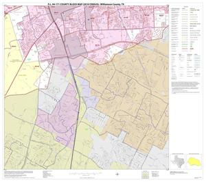 Primary view of object titled 'P.L. 94-171 County Block Map (2010 Census): Williamson County, Block 31'.