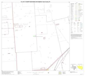 Primary view of object titled 'P.L. 94-171 County Block Map (2010 Census): Harris County, Block 101'.