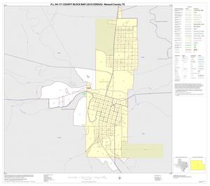 Primary view of object titled 'P.L. 94-171 County Block Map (2010 Census): Menard County, Inset A01'.