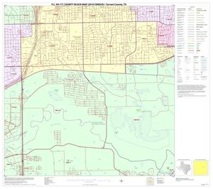 Primary view of object titled 'P.L. 94-171 County Block Map (2010 Census): Tarrant County, Block 30'.