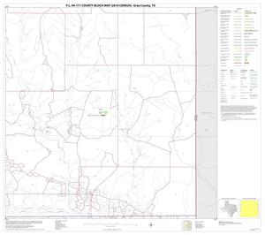 Primary view of object titled 'P.L. 94-171 County Block Map (2010 Census): Gray County, Block 8'.