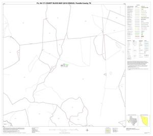 Primary view of object titled 'P.L. 94-171 County Block Map (2010 Census): Presidio County, Block 21'.
