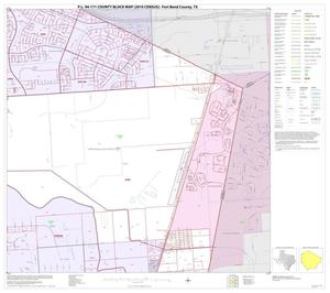 Primary view of object titled 'P.L. 94-171 County Block Map (2010 Census): Fort Bend County, Block 33'.