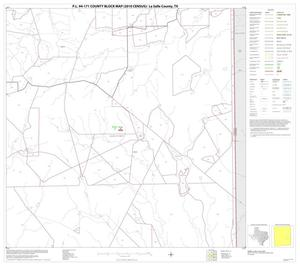 Primary view of object titled 'P.L. 94-171 County Block Map (2010 Census): La Salle County, Block 15'.