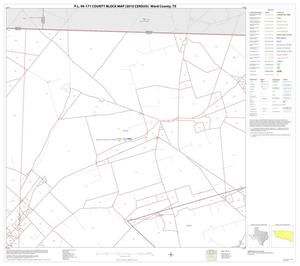 Primary view of object titled 'P.L. 94-171 County Block Map (2010 Census): Ward County, Block 3'.
