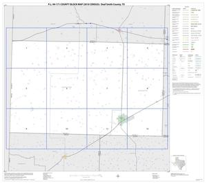 Primary view of object titled 'P.L. 94-171 County Block Map (2010 Census): Deaf Smith County, Index'.