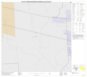 Primary view of object titled 'P.L. 94-171 County Block Map (2010 Census): Harris County, Block 40'.