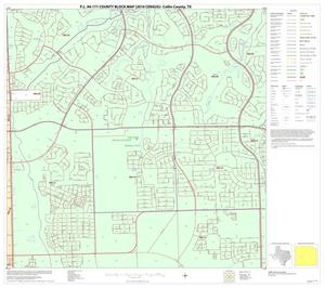 Primary view of object titled 'P.L. 94-171 County Block Map (2010 Census): Collin County, Block 52'.