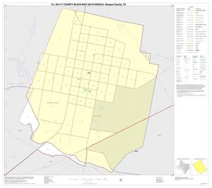 Primary view of object titled 'P.L. 94-171 County Block Map (2010 Census): Bosque County, Inset B01'.