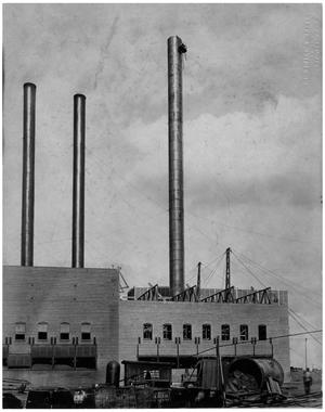 Primary view of object titled '[Swift and Company - Smokestacks]'.