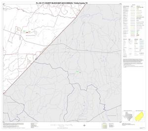 Primary view of object titled 'P.L. 94-171 County Block Map (2010 Census): Trinity County, Block 9'.