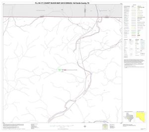 Primary view of object titled 'P.L. 94-171 County Block Map (2010 Census): Val Verde County, Block 8'.
