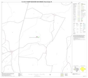 Primary view of object titled 'P.L. 94-171 County Block Map (2010 Census): Pecos County, Block 50'.