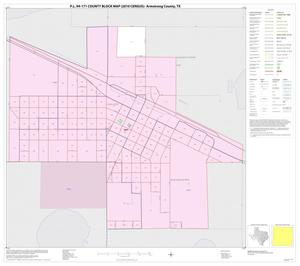 Primary view of object titled 'P.L. 94-171 County Block Map (2010 Census): Armstrong County, Inset B01'.