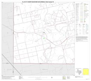Primary view of object titled 'P.L. 94-171 County Block Map (2010 Census): Fisher County, Block 13'.