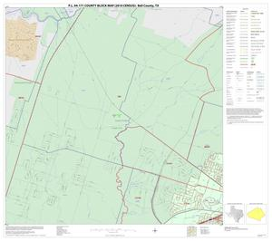 Primary view of object titled 'P.L. 94-171 County Block Map (2010 Census): Bell County, Inset H01'.