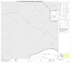 Primary view of object titled 'P.L. 94-171 County Block Map (2010 Census): Fort Bend County, Block 6'.