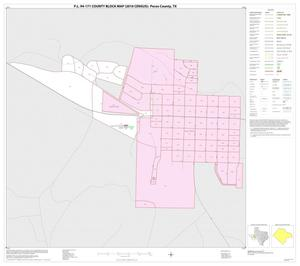 Primary view of object titled 'P.L. 94-171 County Block Map (2010 Census): Pecos County, Inset D01'.
