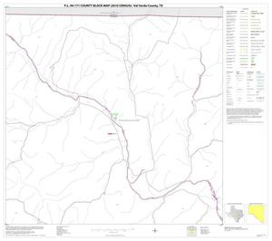 Primary view of object titled 'P.L. 94-171 County Block Map (2010 Census): Val Verde County, Block 2'.