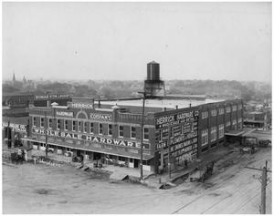 Primary view of object titled '[Herrick Hardware Store]'.