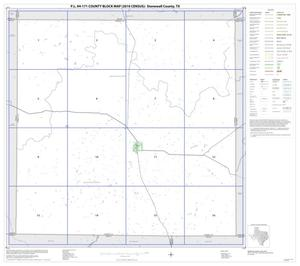 Primary view of object titled 'P.L. 94-171 County Block Map (2010 Census): Stonewall County, Index'.