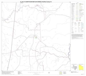 Primary view of object titled 'P.L. 94-171 County Block Map (2010 Census): Red River County, Block 5'.