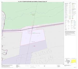 Primary view of object titled 'P.L. 94-171 County Block Map (2010 Census): Chambers County, Inset A01'.