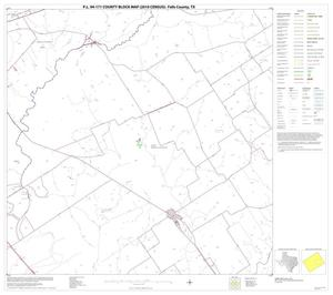 Primary view of object titled 'P.L. 94-171 County Block Map (2010 Census): Falls County, Block 11'.
