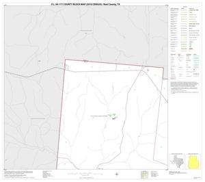 Primary view of object titled 'P.L. 94-171 County Block Map (2010 Census): Real County, Block 1'.