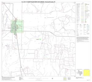 Primary view of object titled 'P.L. 94-171 County Block Map (2010 Census): Stonewall County, Block 11'.