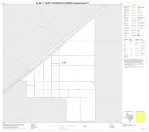 Primary view of object titled 'P.L. 94-171 County Block Map (2010 Census): Runnels County, Inset F01'.