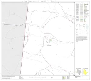 Primary view of object titled 'P.L. 94-171 County Block Map (2010 Census): Reeves County, Block 15'.
