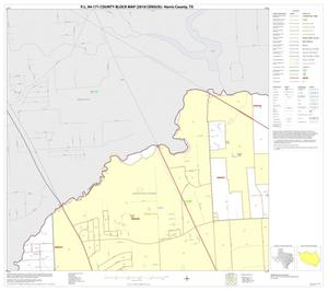 Primary view of object titled 'P.L. 94-171 County Block Map (2010 Census): Harris County, Block 11'.