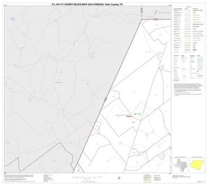 Primary view of object titled 'P.L. 94-171 County Block Map (2010 Census): Starr County, Block 1'.