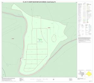 Primary view of object titled 'P.L. 94-171 County Block Map (2010 Census): Comal County, Inset B01'.