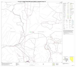Primary view of object titled 'P.L. 94-171 County Block Map (2010 Census): Hudspeth County, Block 18'.