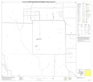 Primary view of object titled 'P.L. 94-171 County Block Map (2010 Census): Denton County, Block 23'.