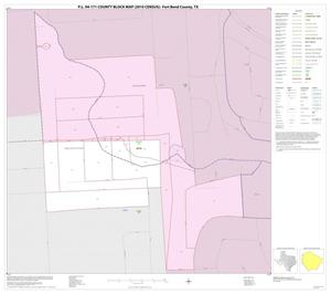 Primary view of object titled 'P.L. 94-171 County Block Map (2010 Census): Fort Bend County, Inset D01'.