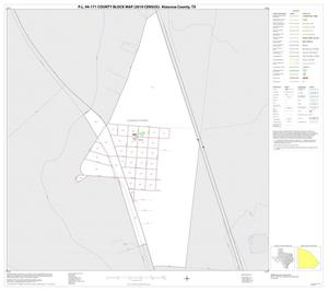 Primary view of object titled 'P.L. 94-171 County Block Map (2010 Census): Atascosa County, Inset H01'.