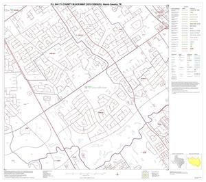Primary view of object titled 'P.L. 94-171 County Block Map (2010 Census): Harris County, Block 69'.