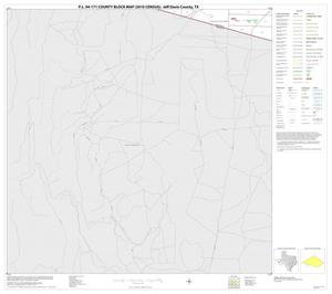 Primary view of object titled 'P.L. 94-171 County Block Map (2010 Census): Jeff Davis County, Block 24'.