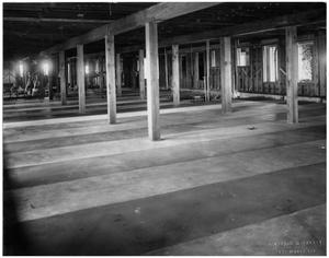 Primary view of object titled '[Interior of a Warehousse]'.