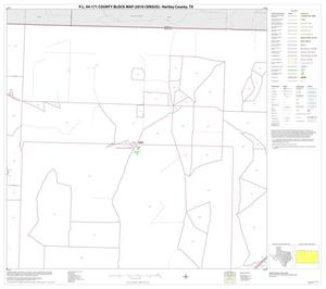 Primary view of object titled 'P.L. 94-171 County Block Map (2010 Census): Hartley County, Block 2'.